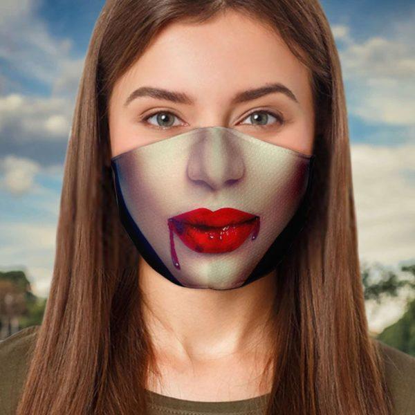 Vampire Halloween Face Mask