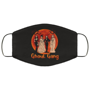Ghoul Gang Halloween Squad Goals Elvira Morticia Face Mask