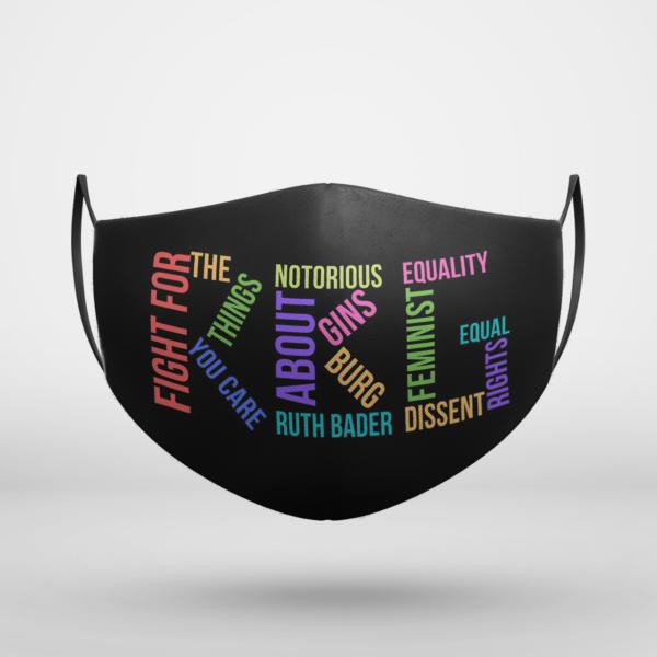 RBG Ruth Bader Ginsburg Face Mask