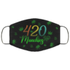 420 Munchies Weed Cannabis Face Mask