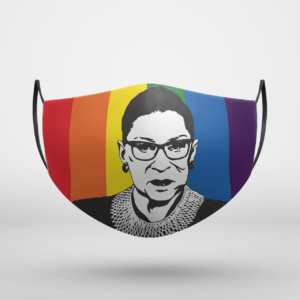 RBG Rainbow Face Mask