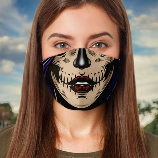 Day of the Dead Calavera Face Mask