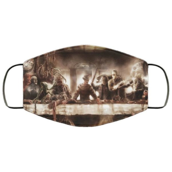 Horror Movie Icon Last Supper Face Mask