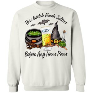Vizzy Pineapple Mango This Witch Needs Seltzer Before Any Hocus Pocus Halloween T-Shirt