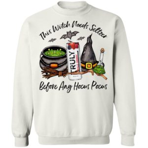 Truly Wild Berry This Witch Needs Seltzer Before Any Hocus Pocus Halloween T-Shirt