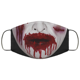 Zombie Bloody Mouth Halloween Face Mask