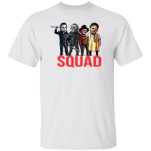 Horror Squad Goals Halloween T-Shirt, Long Sleeve, Hoodie