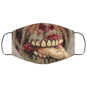 Man-Eater Halloween Face Mask