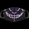 Purple Anroll Halloween LED Light Up Face Mask