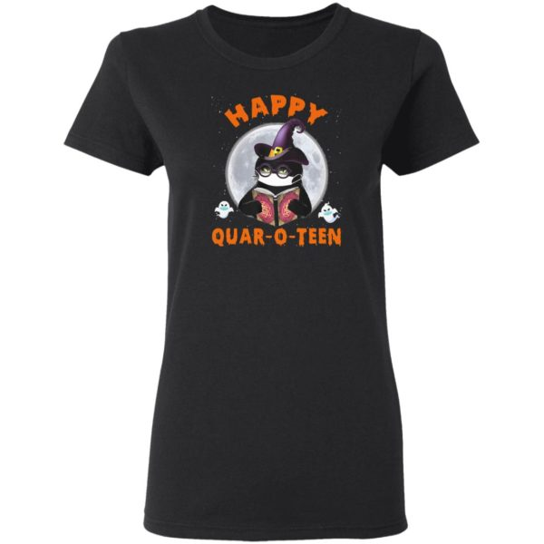 Happy Quar-o-teen Witch Halloween T-Shirt