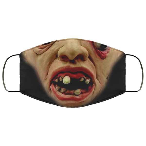 Scary Walking Mask Dead Prop Creepy Halloween Face Mask