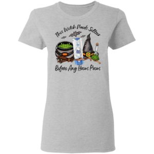 San Juan Pure This Witch Needs Seltzer Before Any Hocus Pocus Halloween T-Shirt