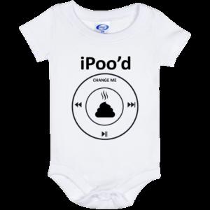 iPood Change Me Bodysuit Baby Onesie