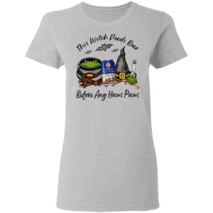 Fat Tire Amber Ale This Witch Needs Beer Before Any Hocus Pocus Halloween T-Shirt