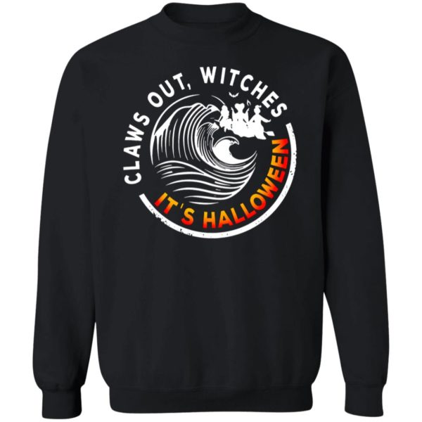 Claws Out Witches! It's Halloween Sanderson Sisters Hocus Pocus T-Shirt