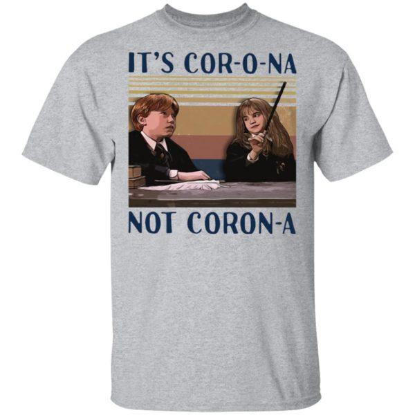 Hermione Granger It's Corona Not Corona T-Shirt