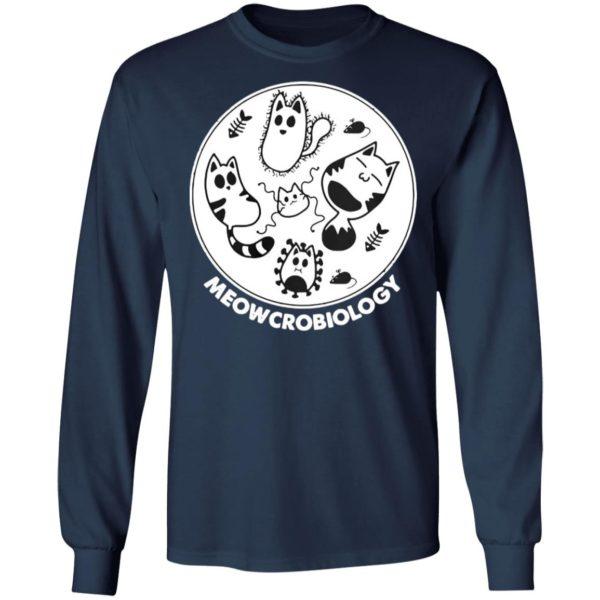 Meowcrobiology Microbiology Cat T-Shirt