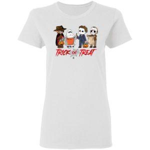 Horror Movies Trick Or Treat Halloween T-shirt