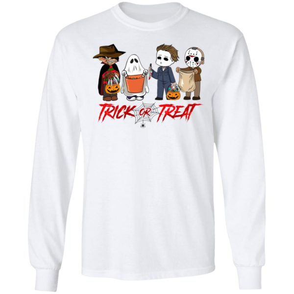 Horror Movies Trick Or Treat Halloween T-shirt
