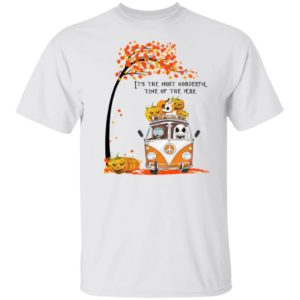 Jack Skellington Sally And Zero It's The Most Wonderful Time Of The Year T-Shirt