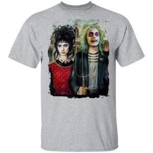 American Beetlejuice Gothic Halloween T-Shirt