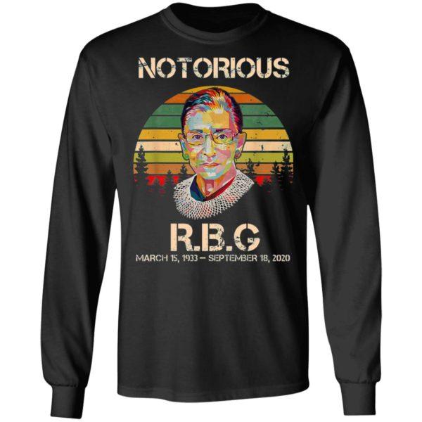 Notorious RBG Ruth Bader Ginsburg T-Shirt, LS, Hoodie