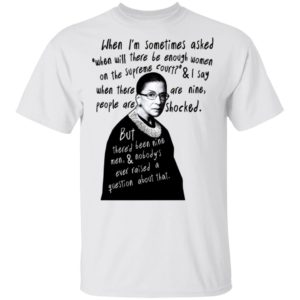 The Queen The Notorious RBG Shirt