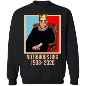 Queen Notorious RBG RIP 1933 2020 Shirt