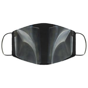 Mandalorian Helmet Face Mask This is the Way Face Mask