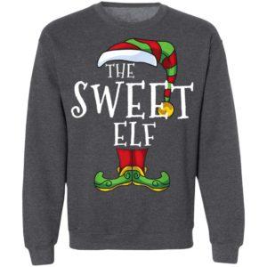 Sweet Elf Family Matching Christmas Group Funny Pajama T-Shirt
