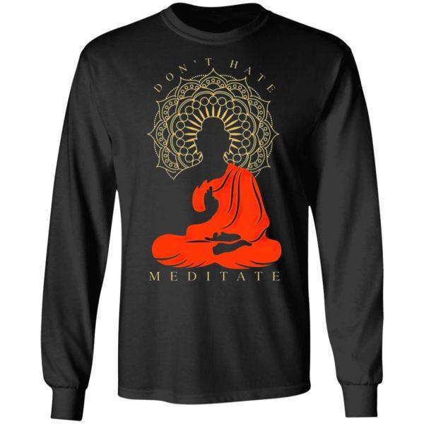 I Meditate Pullover Hoodie