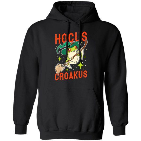 Hocus Croakus Frog Witch Halloween T-Shirt