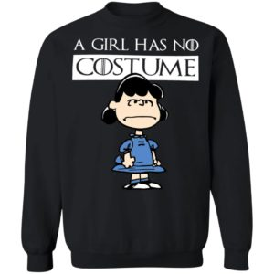 Lucy Van Pelt A Girl Has No Costume Halloween T-Shirt