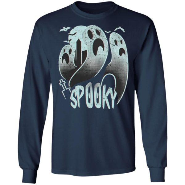 Halloween Gravestone Ghost Spooky T-Shirt
