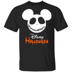 Halloween Disney Logo Mickey Mouse T-Shirt