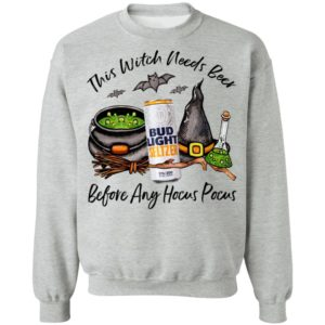 Bud Light Seltzer Mango Can This Witch Needs Beer Before Any Hocus Pocus Shirt