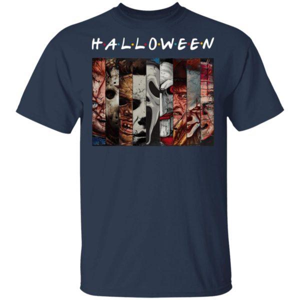 FRIENDS Horror Movies Killers Halloween T-Shirt