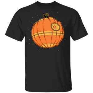 Halloween Death Star Pumpkin Star Wars T-Shirt