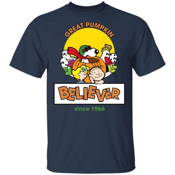Great Pumpkin Believer Happy Halloween Snoopy T-Shirt