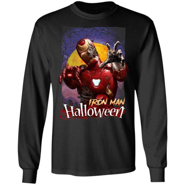 Halloween Marvel Horror Zombie Iron Man T-Shirt
