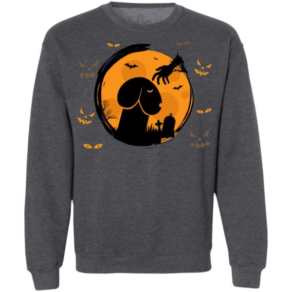 Dickhead Dog In The Night Of Halloween T-Shirt