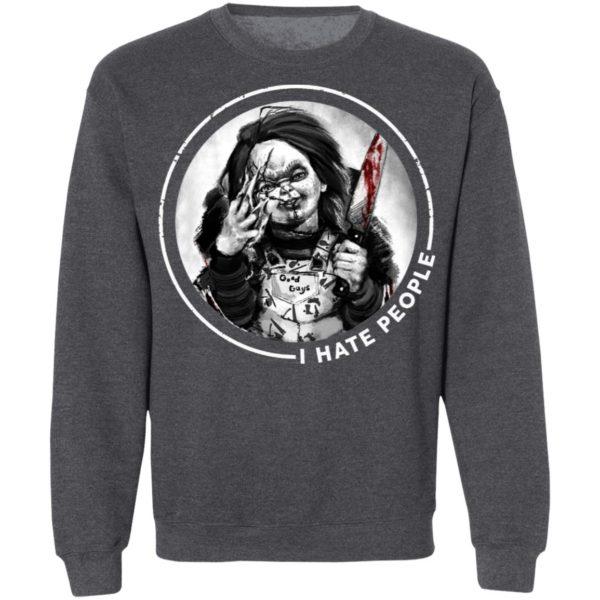 Chucky Doll I Hate People Halloween T-Shirt