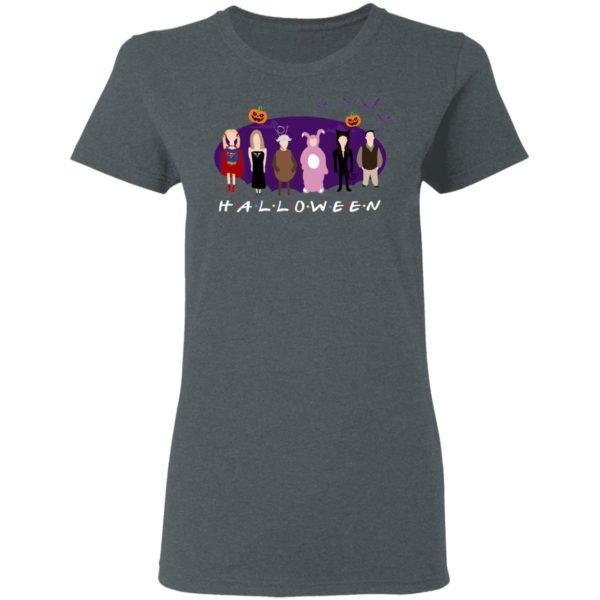 Childish Drawing Halloween Holiday FRIENDS T-Shirt
