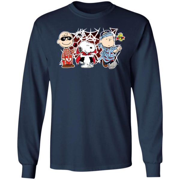 Charlie Woodstock Linus Snoopy Night Costumes Halloween T-Shirt