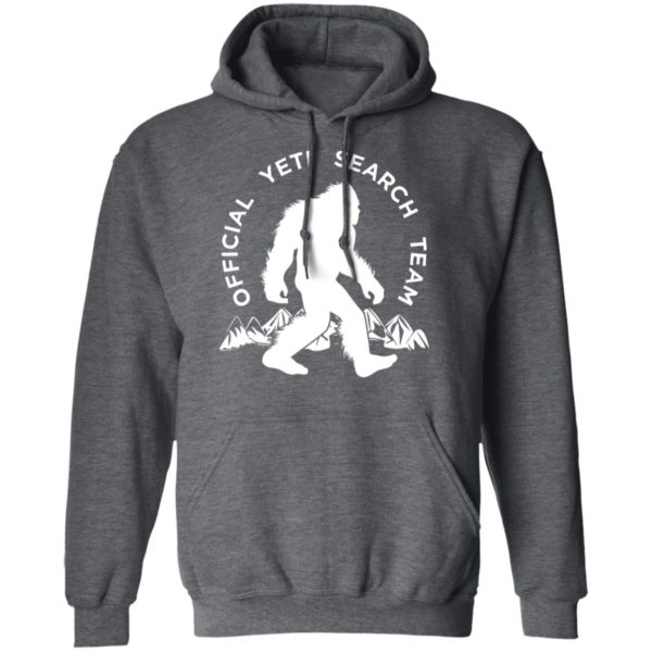 Official Yet Search Team Bigfoot T-Shirt