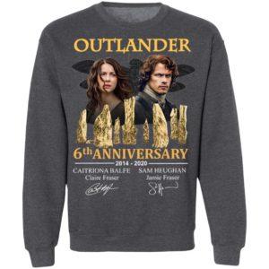 Outlander 5th Anniversary 2014 2020 Signatures T-Shirt