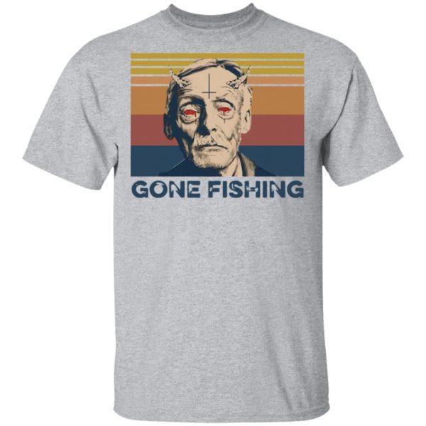 Albert Fish Gone Fishing T-Shirt