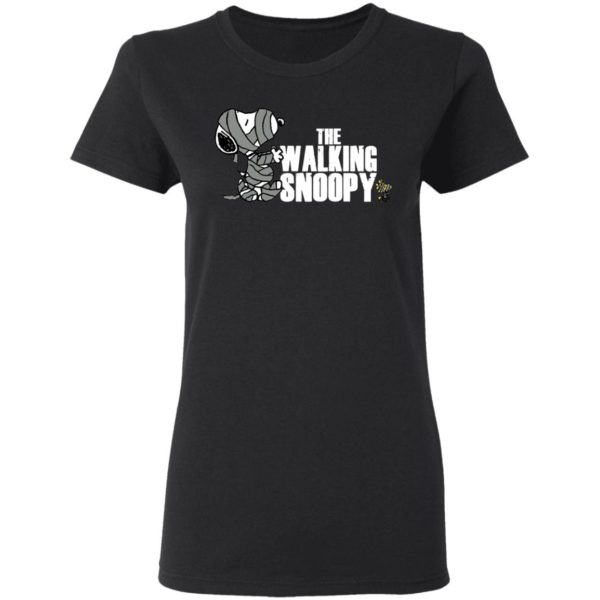 The Walking Snoopy Happy Halloween T-Shirt