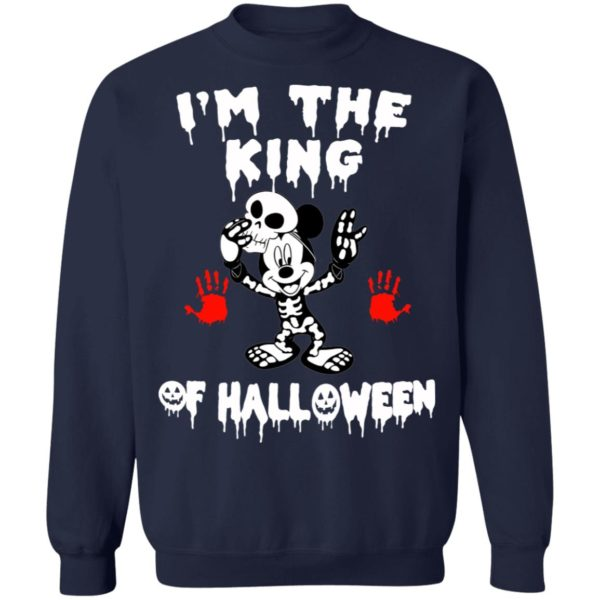 Mickey Mouse Disney Im The King Of Halloween T-Shirt