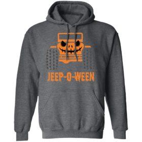 Jeep-O-Ween Jeep Car Halloween T-Shirt